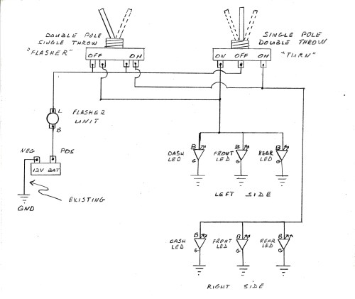 small resolution of 12v led turn signal wiring wiring diagrams terms 12v led turn signal wiring