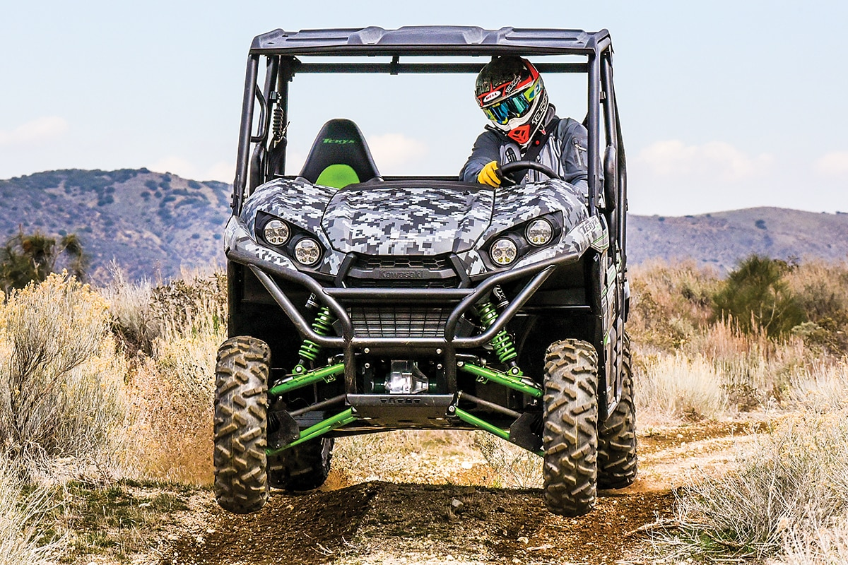 hight resolution of new for 2018 the kawasaki teryx le and teryx4 le is available in matrix camo gray the teryx is a great exploration and adventure utv that does almost