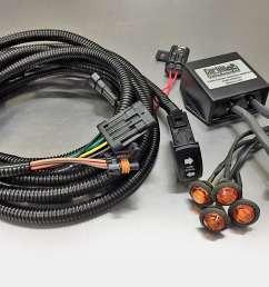 corbin custom works plug and play turn signal kit [ 1200 x 829 Pixel ]