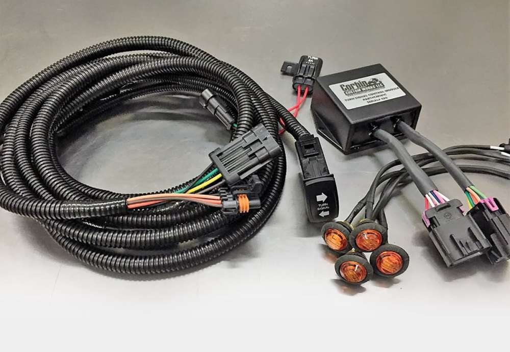 medium resolution of corbin custom works plug and play turn signal kit