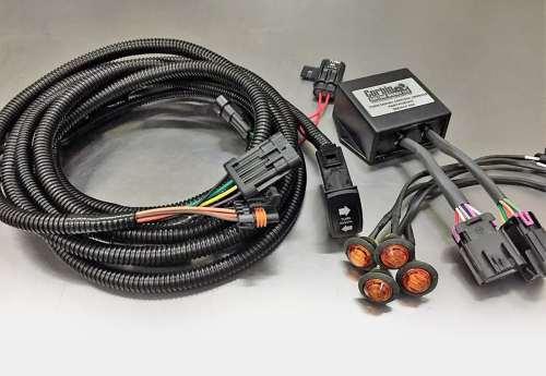 small resolution of corbin custom works plug and play turn signal kit