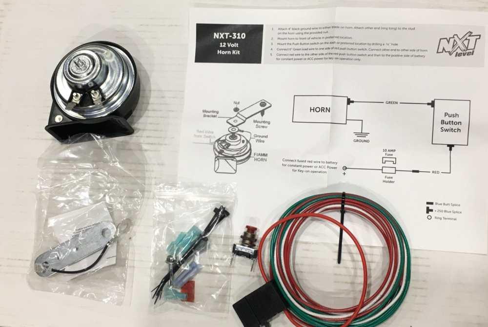 medium resolution of horn kit