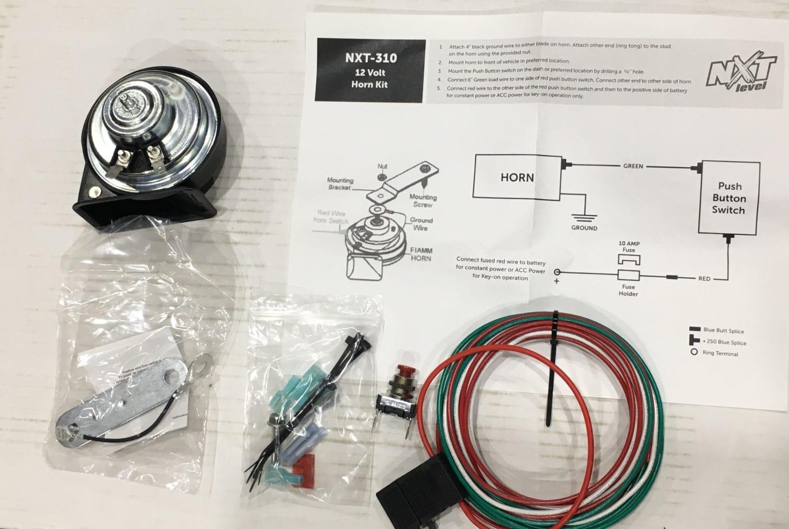 hight resolution of horn kit