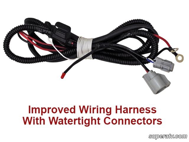 Utv Led Light Bar Wiring Harness Super Atv Ez Steer Power Steering Kit Can Am Commander