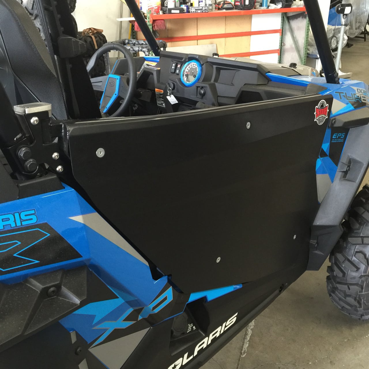 hight resolution of sdr motorsports door kit bolt on polaris rzr xp 1000 black