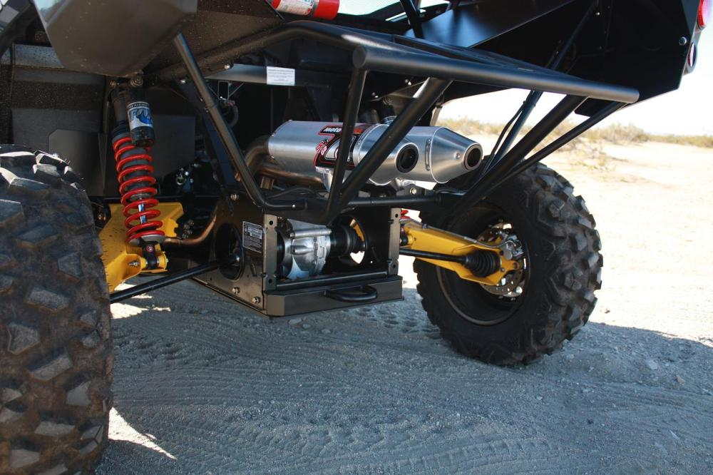 medium resolution of  hrp can am commander motoworks dual exhaust