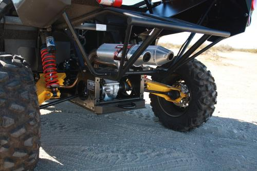 small resolution of  hrp can am commander motoworks dual exhaust