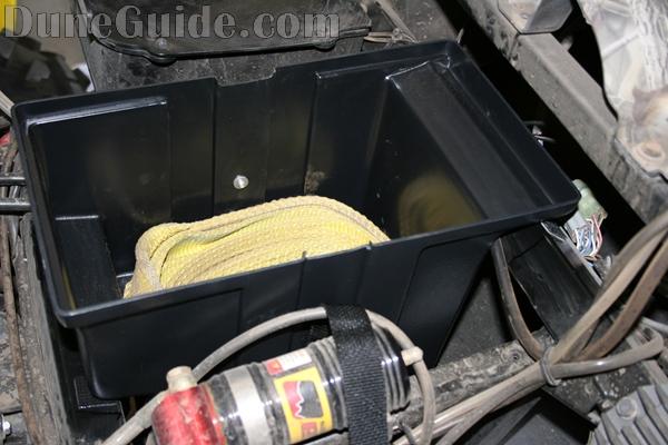 Yamaha Rhino Under Hood Storage Box