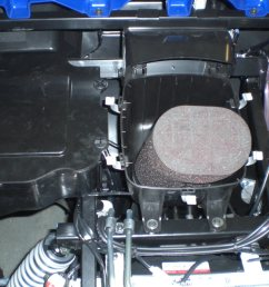 2008 yamaha rhino under hood air filter [ 1600 x 1200 Pixel ]