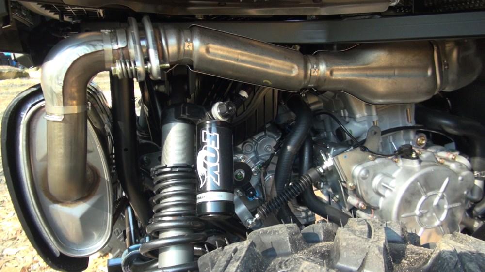 medium resolution of 2016 polaris rzr s 1000 first test engine exhaust