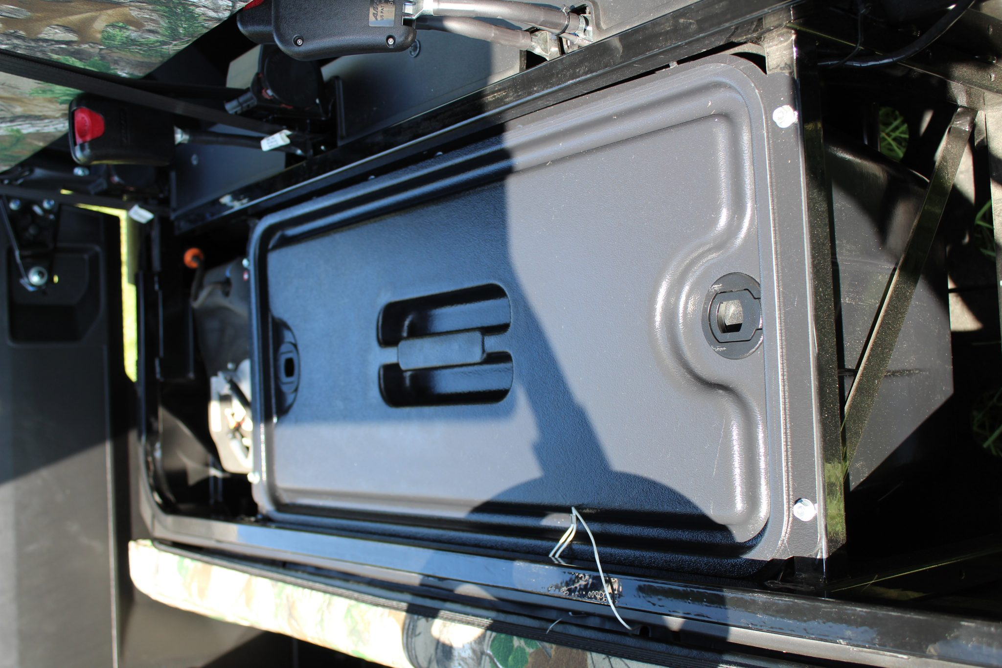 Storage Compartment Under Seat Mule Pro Fxt Utvproducts