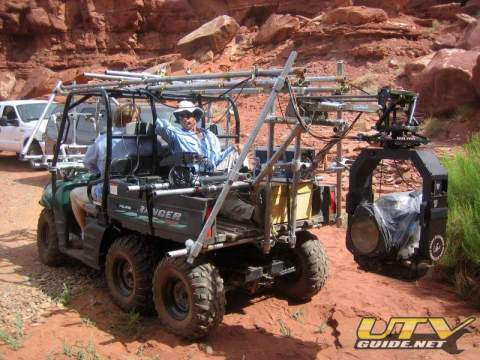Film Platform - Polaris Ranger 6x6