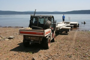 Bobcat Toolcat at Lake Almanor