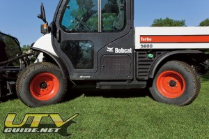 Bobcat Toolcat with All Wheel Steering