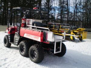 Kimtek EMT Skid in a Polaris RANGER Ranger6x6