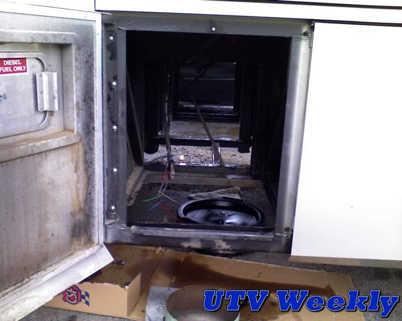 Repairing A Leaking Diesel Motorhome Fuel Tank Utv Weekly