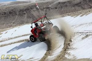 Polaris RZR at Sand Mountain