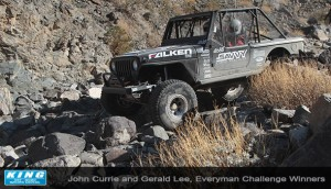 king currie King of the hammers stock class winner