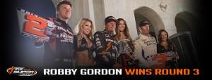 Robby Gordon Podium winner
