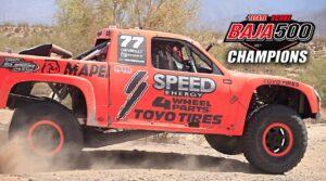 Speed Energy Takes over Baja 500