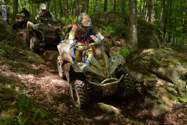 Bryan Buckhannon (ATV Parts Plus / Can-Am) finished third at round seven on his Can-Am Renegade 800R X xc to retain the second-place points spot in the 4x4 Pro class standings.