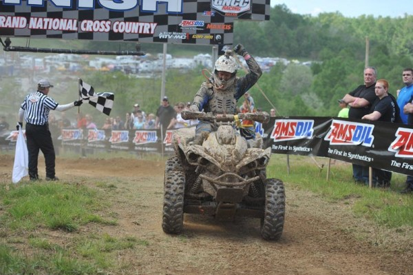 His third 4x4 Pro class win of the season has given Can-Am X-Team and Renegade 800R X xc racer Kevin Trantham a nice points cushion heading into round eight.