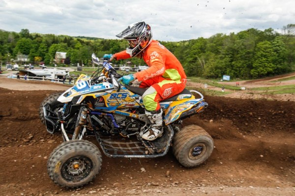 Creamer, who took second to Hetrick in the Pro class, won the NEATV-MX Pro-Am class at round three aboard his BCS Performance-backed Can-Am DS 450 ATV.