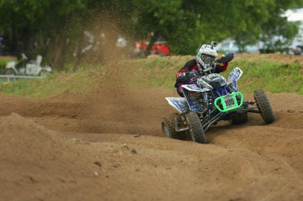 Noah Mickelson won the Schoolboy Jr. Open (13-15) class and took second in another class riding for RRR / FTR / Motowoz / ITP.
