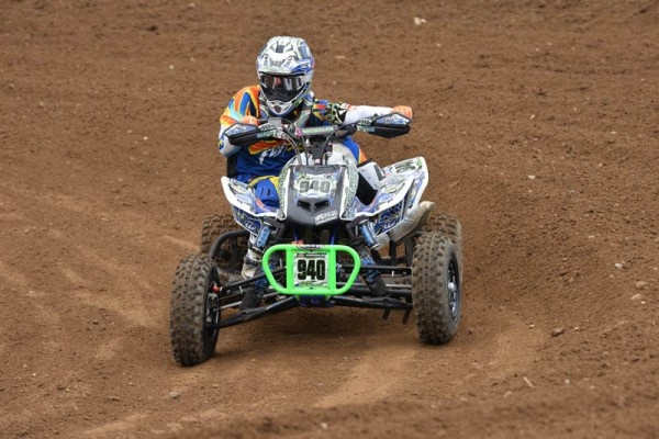 Dylan Tremellen won the Production A class at Red Bud