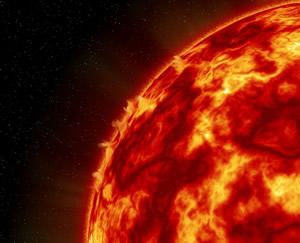 恒星の表面