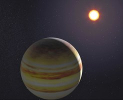 太陽系外惑星想像図