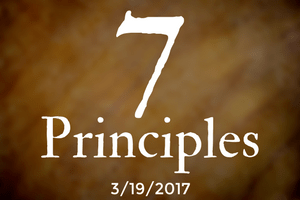 The 7 Principles, Part Five: The Use of The Democratic Process