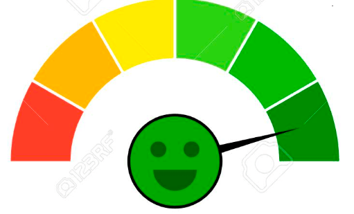 Move the dial from red to green with climate action