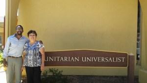 With Gina Whitacker in San Luis Obispo