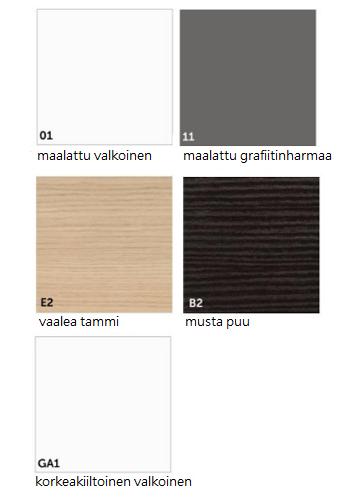 Temal värivaihtoehdot 2019