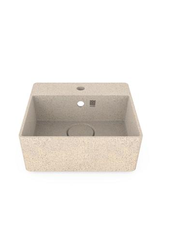 Woodio Cube40 malja-allas hanapaikalla seinäkiinnitys polar
