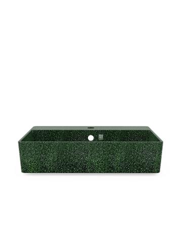 Woodio Cube60 allas hanapaikalla seinäkiinnitys moss kuva 2