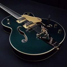 Gretsch 6196t Green (2)