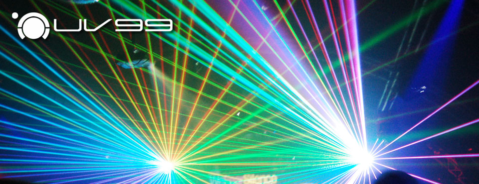 UV99 - Brings lasers to Life!