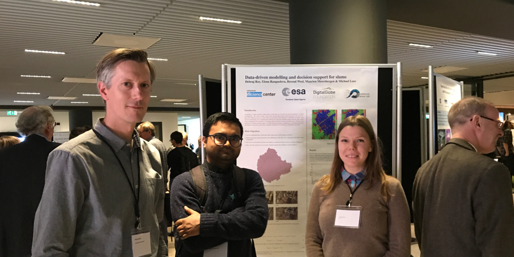 "CSL members present posters at ""Science in a Digital World"""