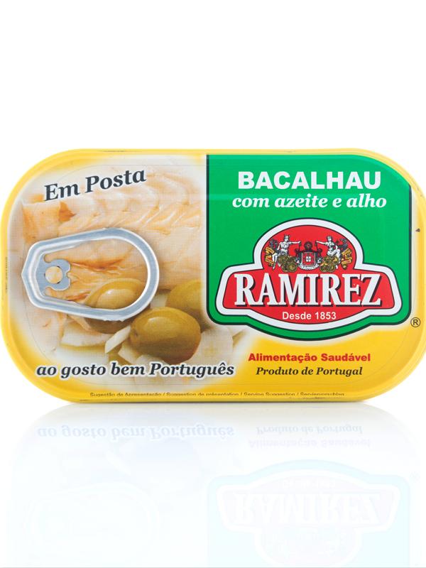 Ramirez - Codfish in Olive Oil and Garlic