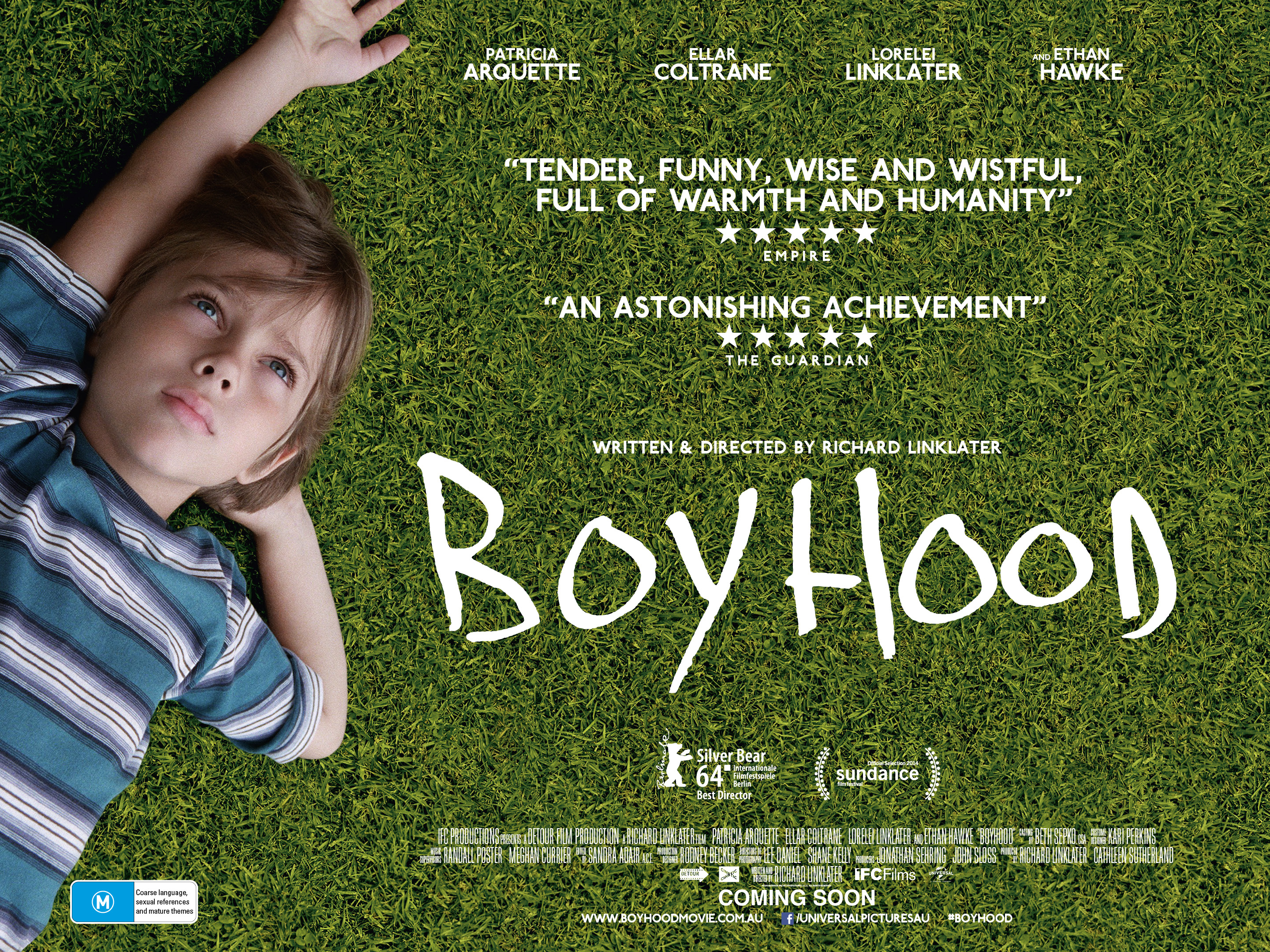 'Boyhood' Unique And Worthy Of An Oscar