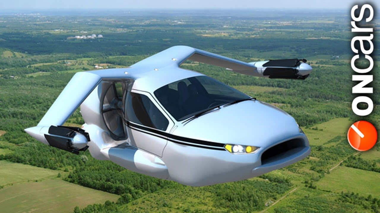 The Jetsons car is coming