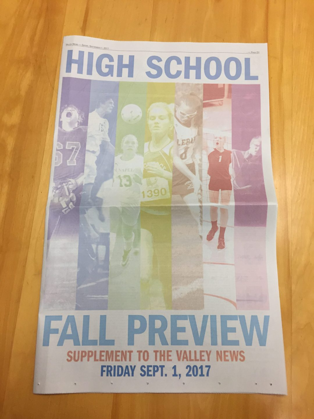 The 2017 Fall High School Sports Preview, produced by the Valley News sports staff.