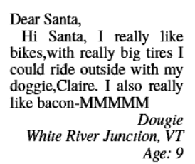 Letters to santa are up on the valley news website now uv index btw if you are still hoping to see santa hes in wells river tonight and has a busy day planned in the upper valley on saturday spiritdancerdesigns Image collections