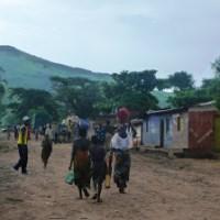 Manifestation de la population de Kamanyola