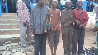 Kamanyola -RDC: Des bandits burundais attrapés à Kamanyola