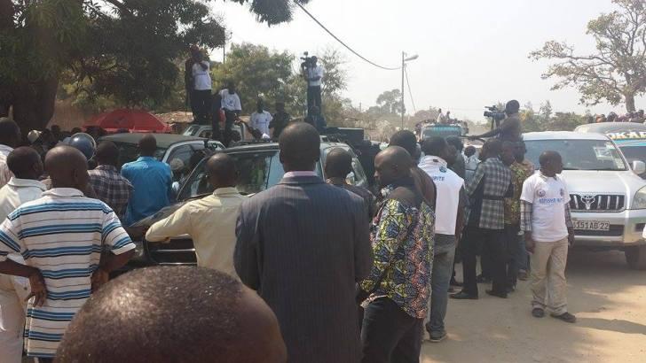 Bitakwira à Uvira en tant que chef de l'opposition Citoyenne