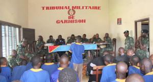 tribunal militaire Congolaise