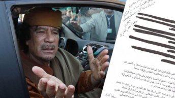 L'émouvante dernière lettre de Kadhafi dévoilée!